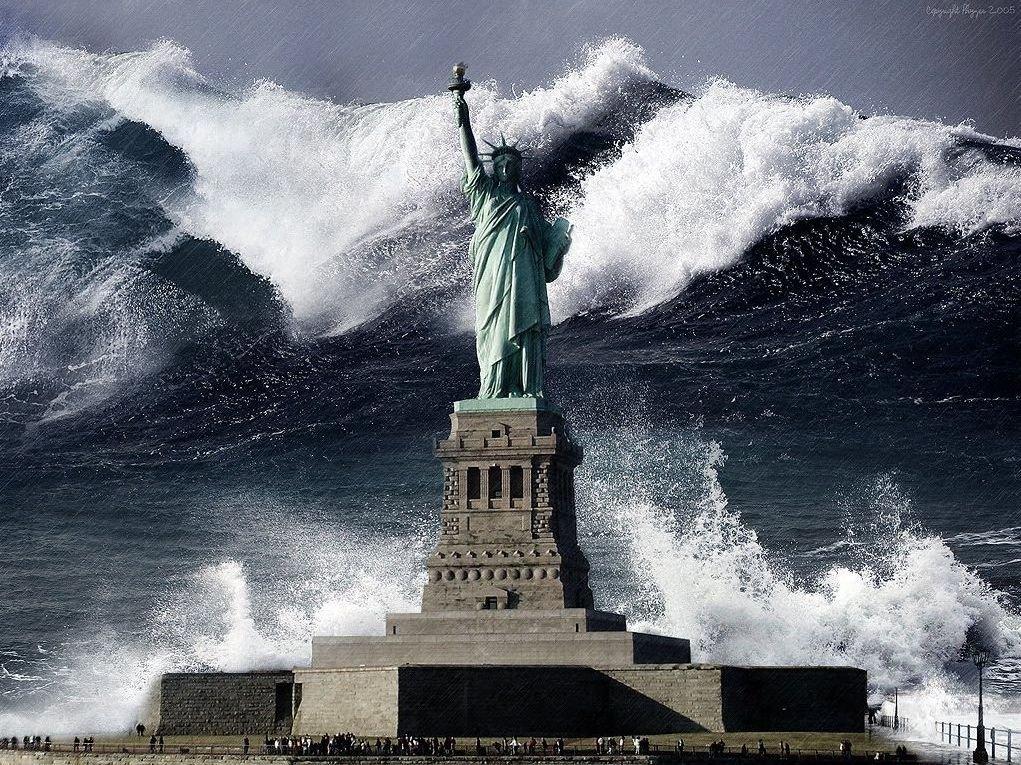 Soñar con un maremoto